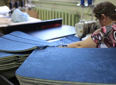 Пошив мягкой части сиденья