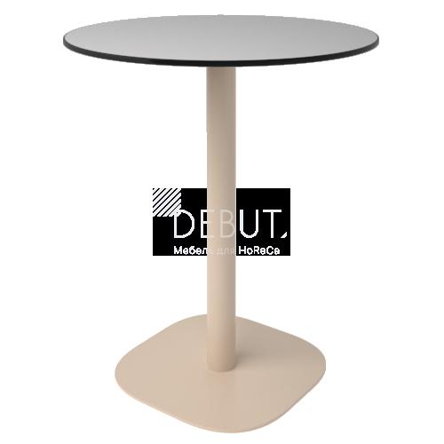 Стол Флэт (12 мм) круглый
