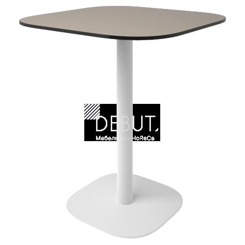 Стол Флэт (12 мм) квадратный